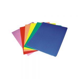 Fascikla hromokarton u boji sa klapnama 280 gr.