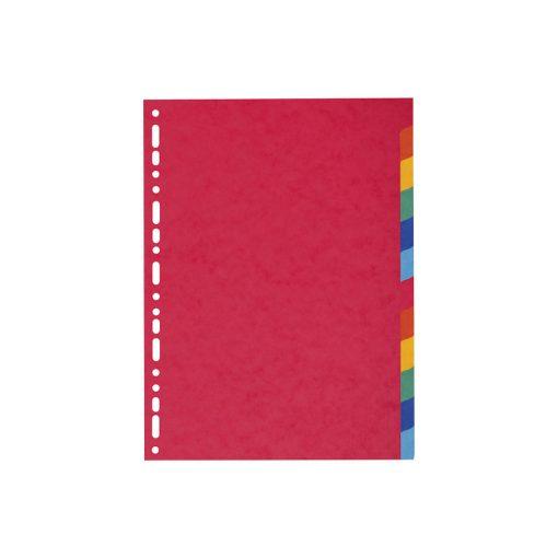 Pregradni karton A4 u boji 12 komada