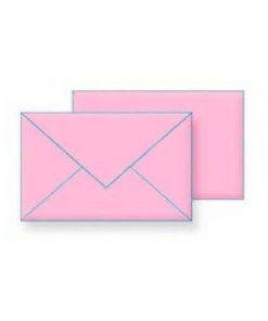 Koverat B5 roze vlazno lepljenje