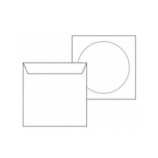 Koverat za CD sa prozorom beli
