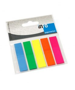 Obelezivac strana 15 x 50 intezivni 5 boja