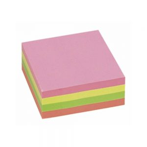 Post it 76 x 76 kocka intezivni 5 boja 300 lista
