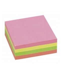 Post it 76 x 76 kocka intezivni 5 boja 400 lista