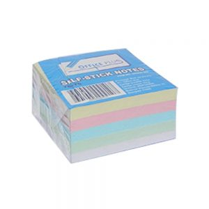Post it 76 x 76 kocka pastel 4 boje 300 lista