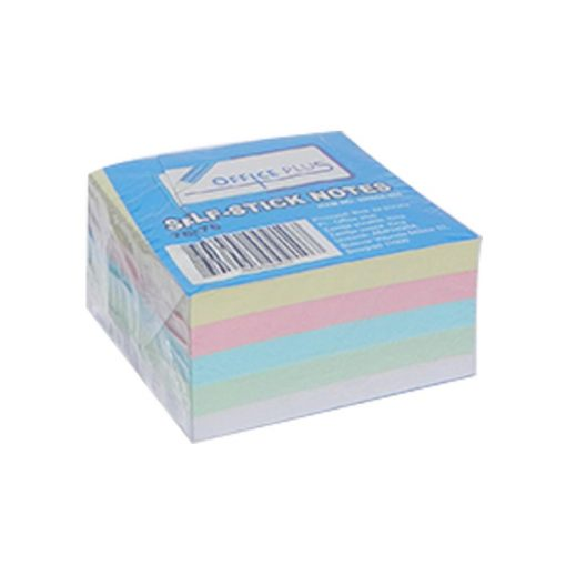 Post it 76 x 76 kocka pastel 4 boje 400 lista
